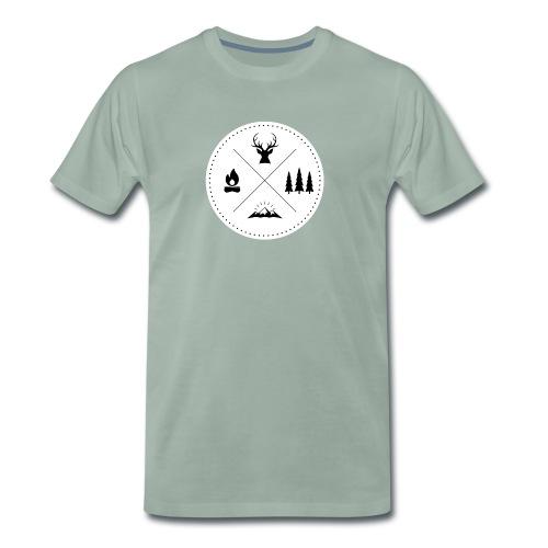 Ornamente Thüringen - Männer Premium T-Shirt
