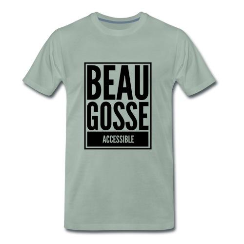 Beau gosse accessible - T-shirt Premium Homme