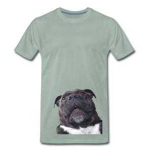 CarbonKulture PhotobombDogColour - Men's Premium T-Shirt