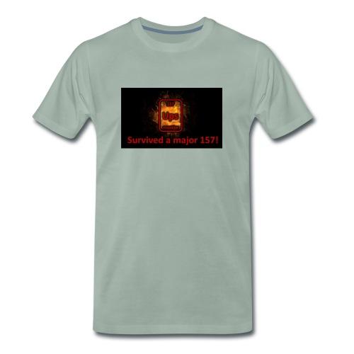 Ups survived - Männer Premium T-Shirt