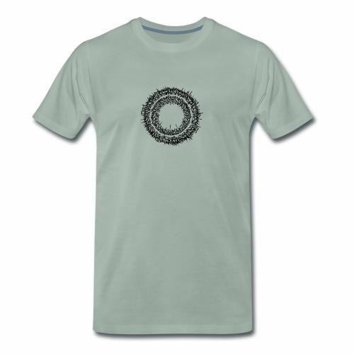 Calligrapy/graffiti Schriftkreis - Männer Premium T-Shirt