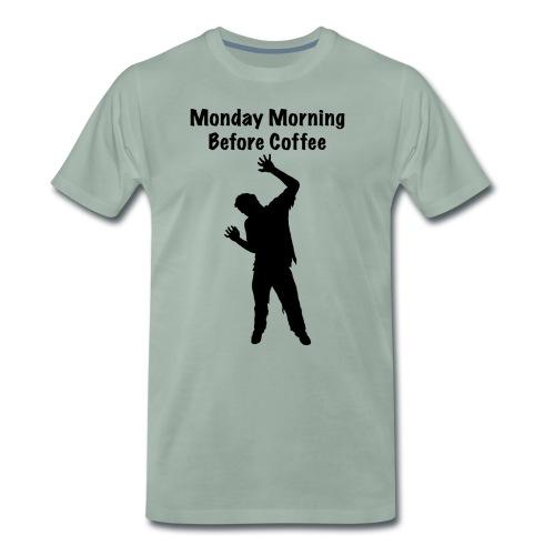 Coffee Zombie - Männer Premium T-Shirt