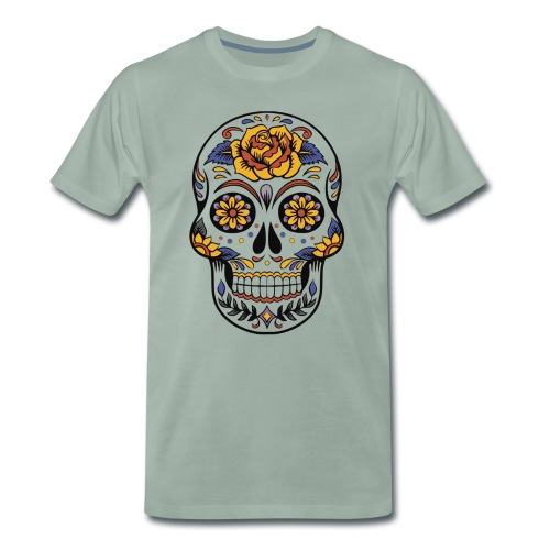 Mexican Skull - Men's Premium T-Shirt