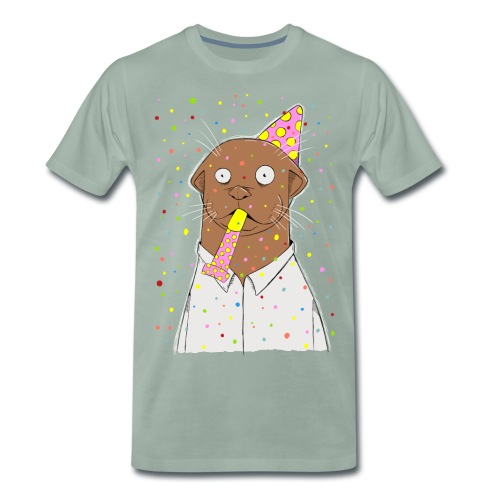 Party, otter was? - Männer Premium T-Shirt