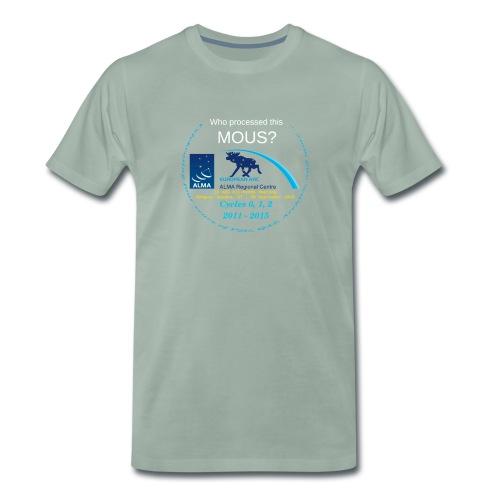 arcshirt stars blue moose - Men's Premium T-Shirt