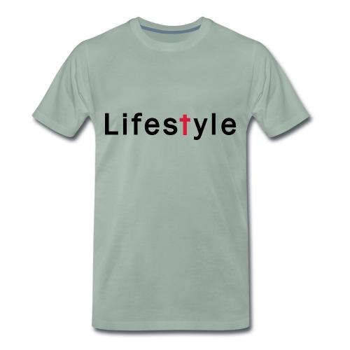 Lifestyle kreuz - Männer Premium T-Shirt