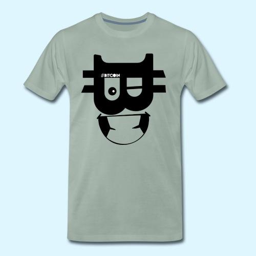 Bitcoin Wink - Men's Premium T-Shirt