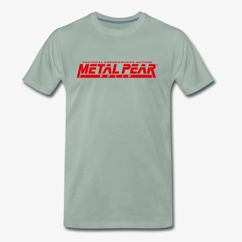 Metal Pear Solid: Tactical Greengrocer Action - Men's Premium T-Shirt