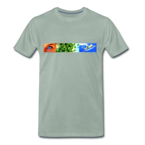 Tropical Surf Girl - Männer Premium T-Shirt
