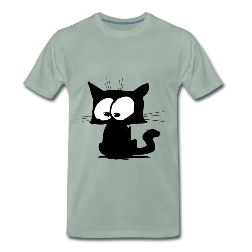 Black Cat 01 - T-shirt Premium Homme
