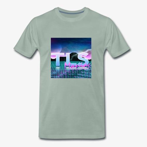 80s Themed TLS Maniac Logo - Men's Premium T-Shirt