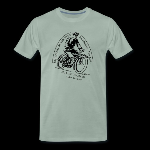Traditional Motorcycle Enthusiast -For Life- - Männer Premium T-Shirt