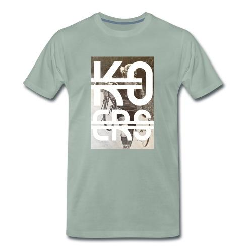 Knock out, Koers - Mannen Premium T-shirt