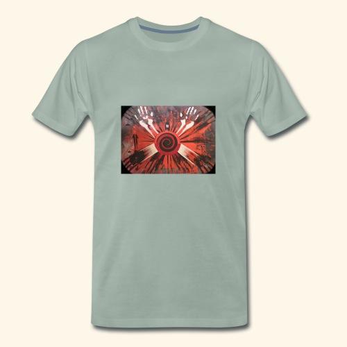 c - Premium-T-shirt herr