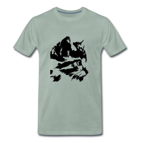 Schwarz u. Bunt Tattoo - Männer Premium T-Shirt