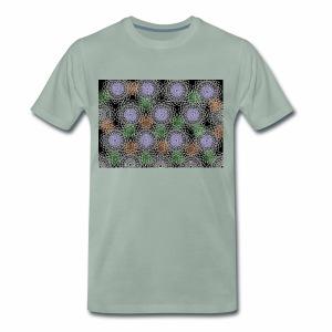 Floral illusion - Men's Premium T-Shirt