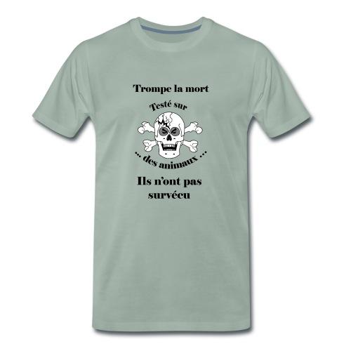 Trompe la mort «méchant» Test animal FC - T-shirt Premium Homme