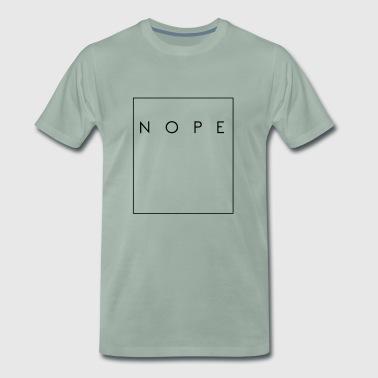 NOPE - Non seulement - T-shirt Premium Homme