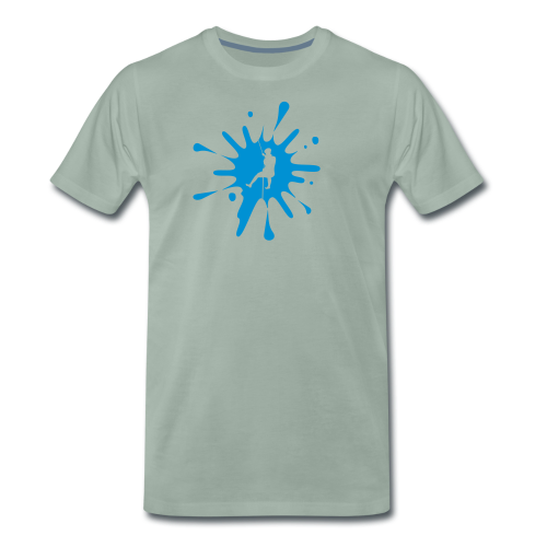 cs Canyoning Splash - Männer Premium T-Shirt