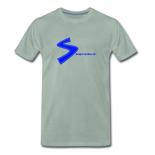 SEQUENCE BLUE - Männer Premium T-Shirt