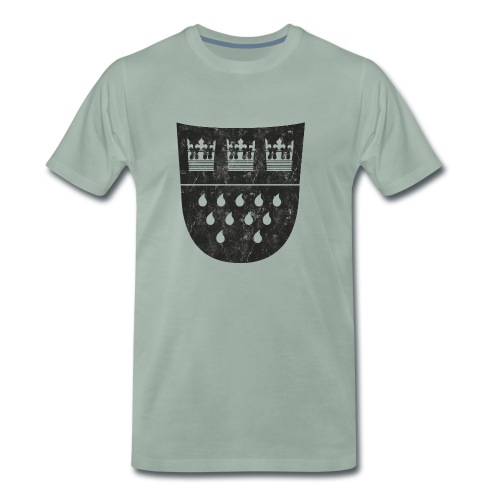 Kölner Wappen - Männer Premium T-Shirt
