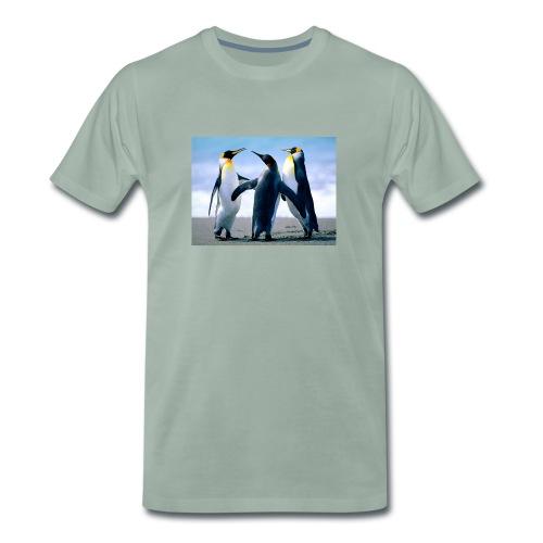 Penguins - Maglietta Premium da uomo