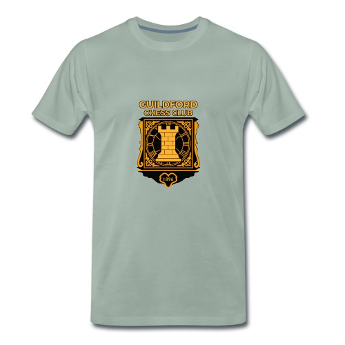 Guildford Chess Club - Men's Premium T-Shirt