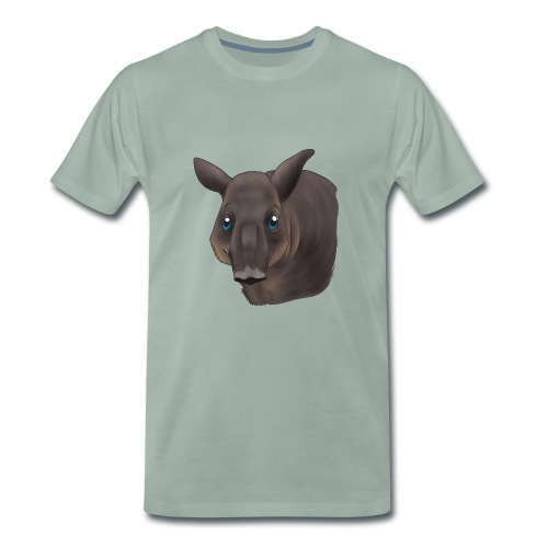 Tapir Portrait - Männer Premium T-Shirt