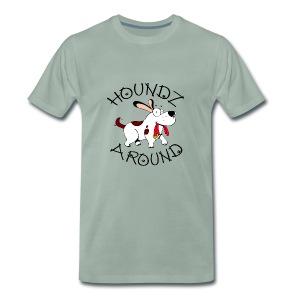 Houndz Around - Men's Premium T-Shirt
