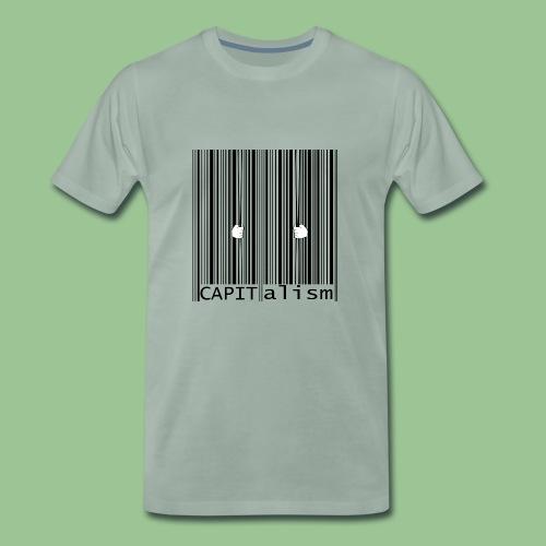CAPItalism Barcode Shirt - Männer Premium T-Shirt