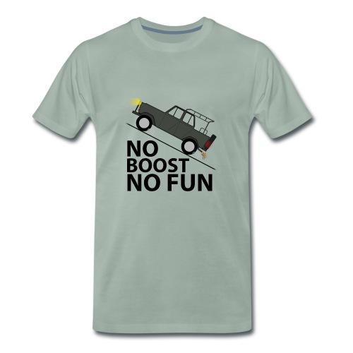 No Boost No Fun - Männer Premium T-Shirt