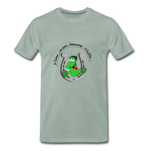 Cheval à la folie FC - T-shirt Premium Homme