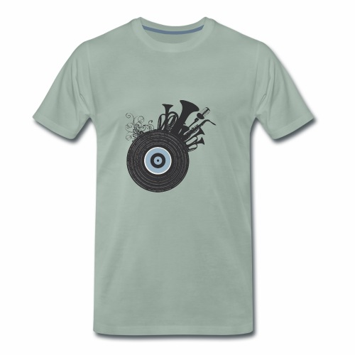 Live in Music - Maglietta Premium da uomo