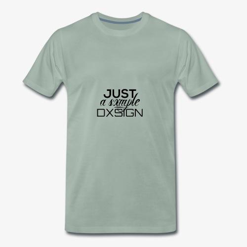 Just a simple DESIGN - Männer Premium T-Shirt
