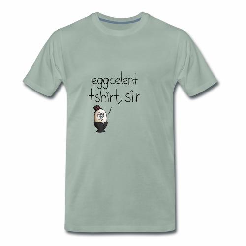 eggcelent t-shirt, Sir - Männer Premium T-Shirt