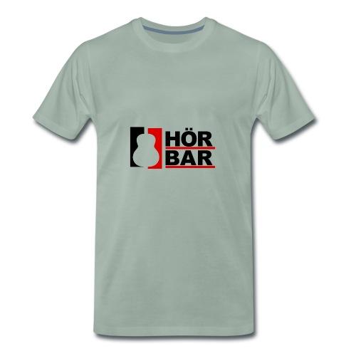 Hörbar Logo - Männer Premium T-Shirt