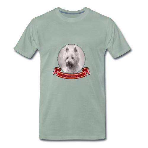 Proud dog owner - Men's Premium T-Shirt