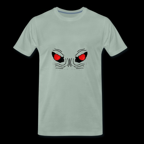 Demon Eyes Red - Men's Premium T-Shirt