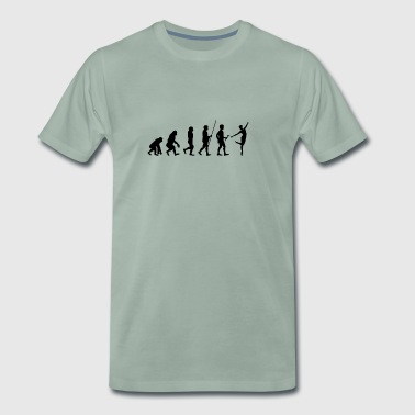 Heartbeat Dancer T-paita Ballet lahja Urheilu - Miesten premium t-paita