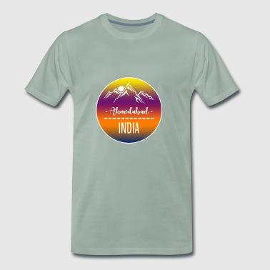Ahmedabad Indie - Koszulka męska Premium
