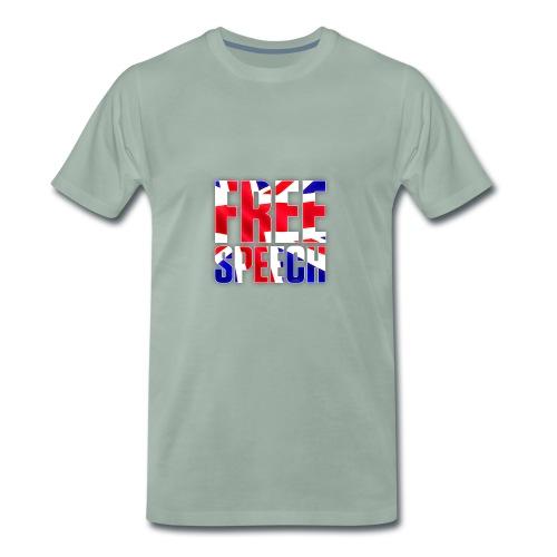 Free Speech UK Alt.1 - Men's Premium T-Shirt