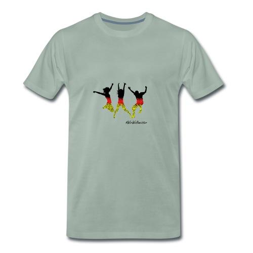 WW 3 Mensche - Männer Premium T-Shirt