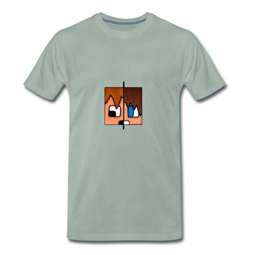 To Menn, Ett Hode (Dame) - Premium T-skjorte for menn