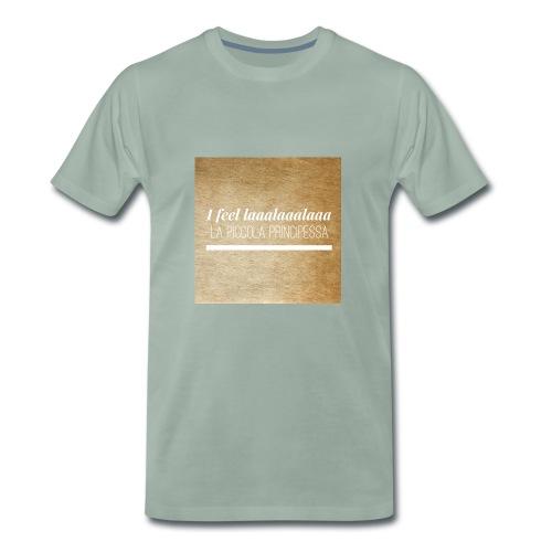Simpel- La Piccola Principessa- Feellaalaalaa - Mannen Premium T-shirt