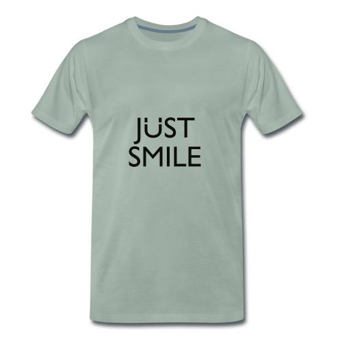 JustSmile Smile - Mannen Premium T-shirt