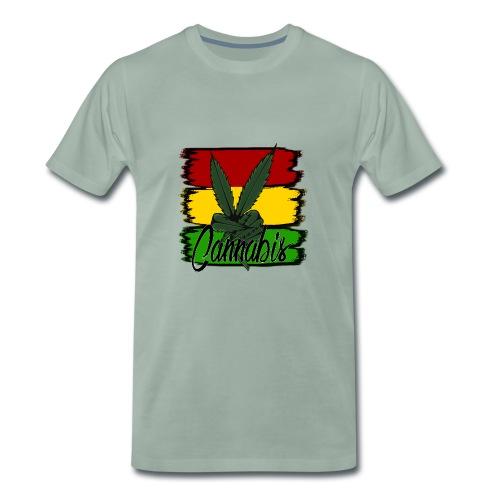 Cannabis - Herre premium T-shirt