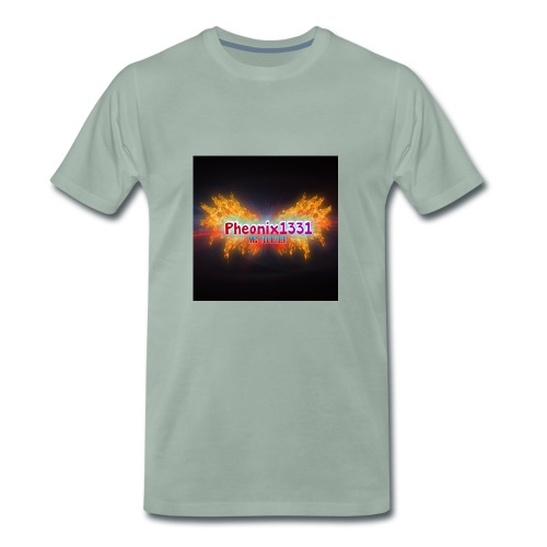 Flaming Pheonix YT - Men's Premium T-Shirt