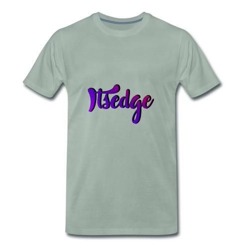 ItsEdge Signature Purple - Men's Premium T-Shirt