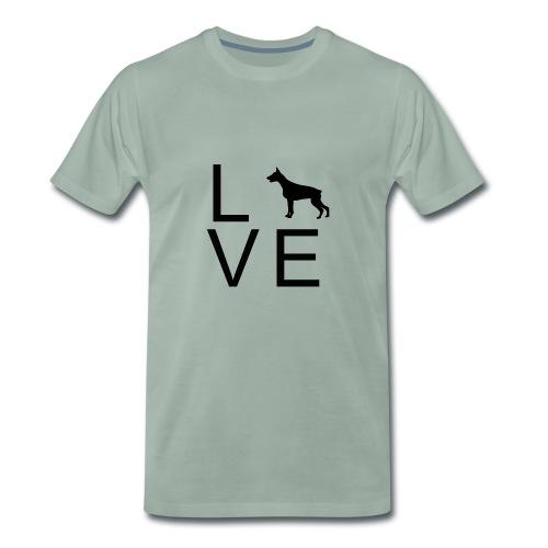 Dog Love 6 - Männer Premium T-Shirt