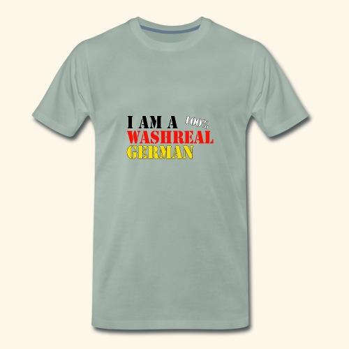 I'm a washreal German - ein waschechter Deutscher - Männer Premium T-Shirt